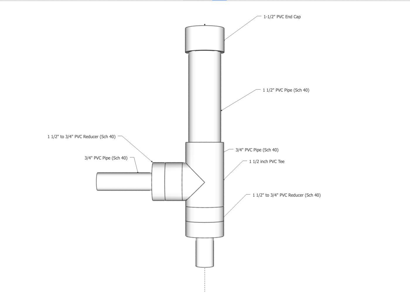 hight resolution of external bell siphon