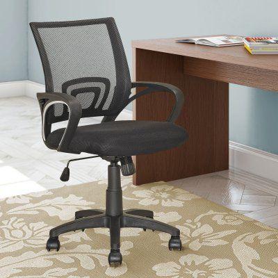 Corliving Swivel Office Chair Black