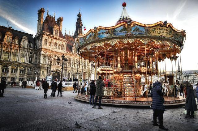 Carrousel - La belle époque by Laurent photography, via Flickr