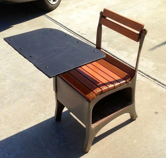 Sold Vintage 1950s School Desk By Cityclics On Etsy