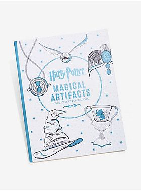 Harry Potter Magical Artifacts Coloring Book Cool Books
