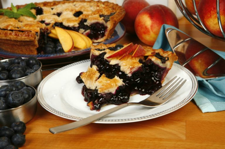April 28: National Blueberry Pie  Day
