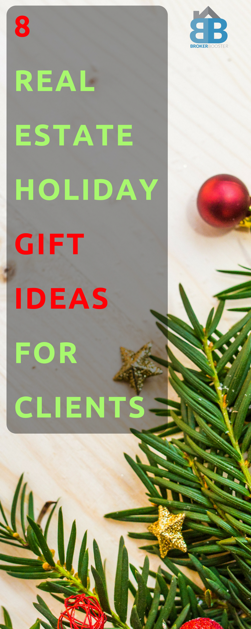 8 Real Estate Holiday Gift Ideas for Clients! Christmas is around ...