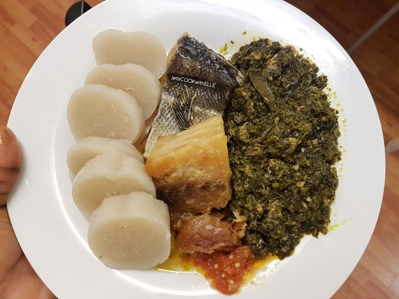 pondu makayabu amp kwanga congolese bombshell food