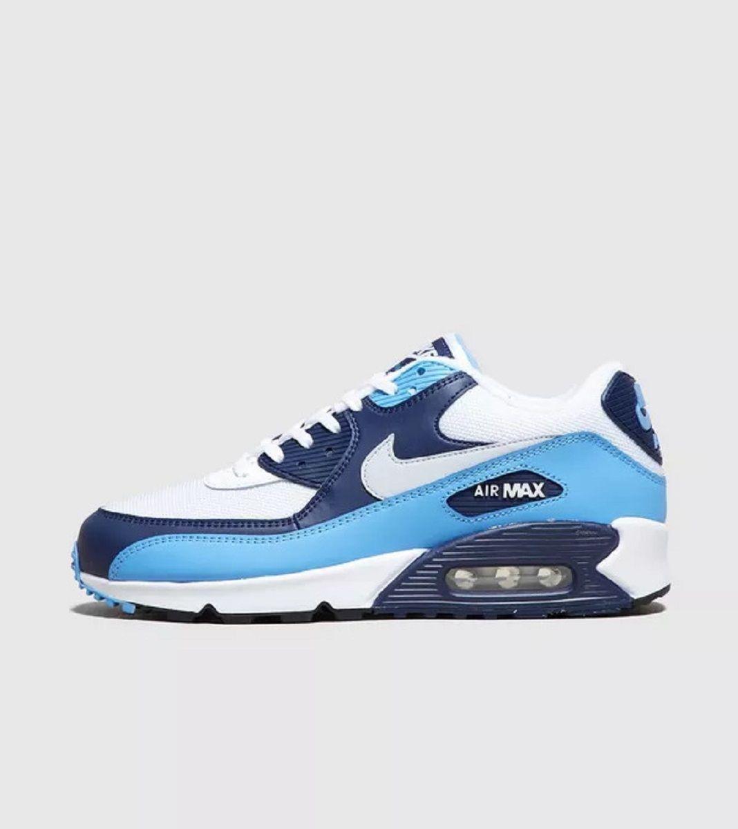 air max 90 azzurro