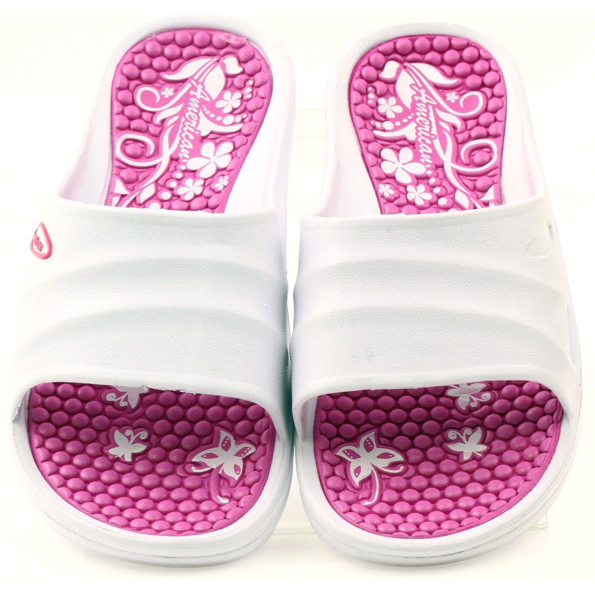 American Club Klapki Piankowe Na Basen American Biale Rozowe Vans Classic Slip On Sneaker Vans Classic Slip On Vans Classic