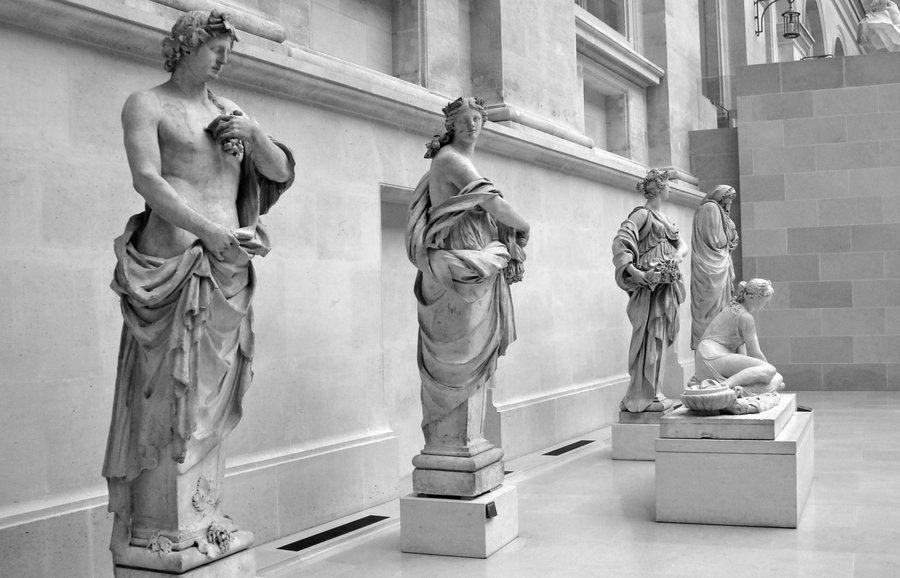 The Four Seasons Four Seasons Statue Art