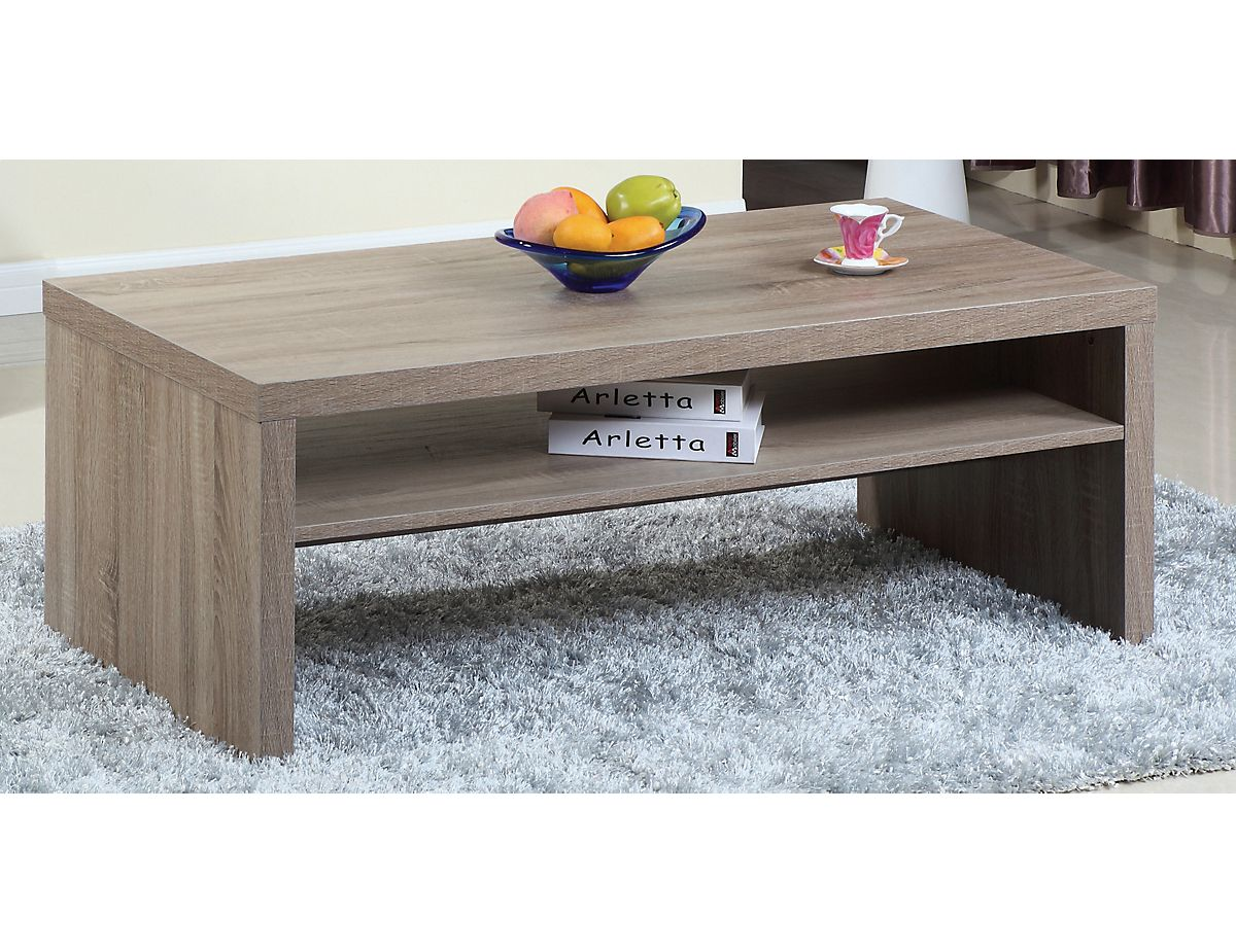 Glendale Coffee Table Grey 29264CTGREY 29264GRCT The Brick