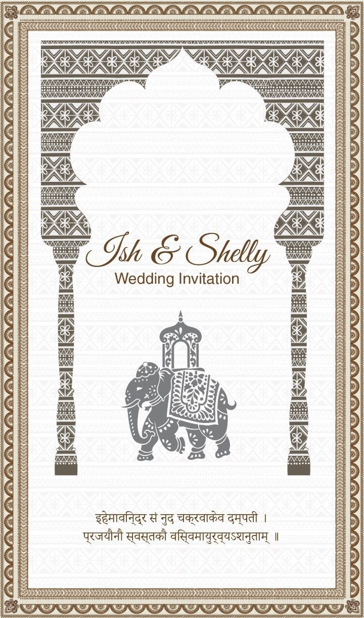 """Check out my @Behance project: """"Indian Wedding Invitation"""" https ..."""