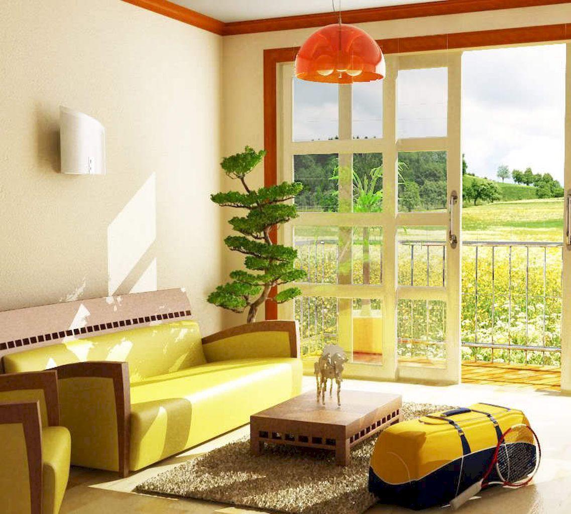 50 inspiring yellow sofas for living room decor ideas
