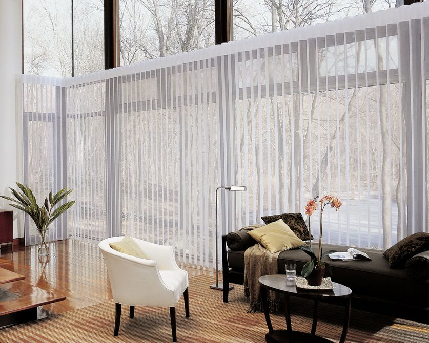Statuette Of Dress Up Your Sliding Doors With A Fastidious Window Covering For Slid Living Room Blinds Contemporary Window Treatments Sliding Glass Door Blinds