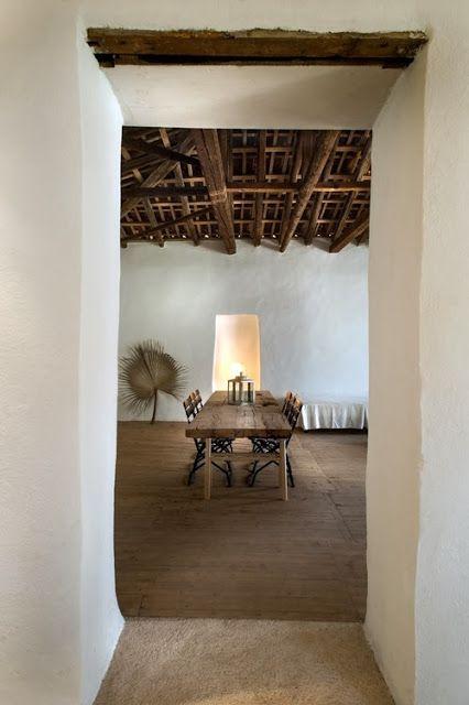 une maison de p cheur en gr ce beach shack pinterest maison d co maison et maison grecque. Black Bedroom Furniture Sets. Home Design Ideas
