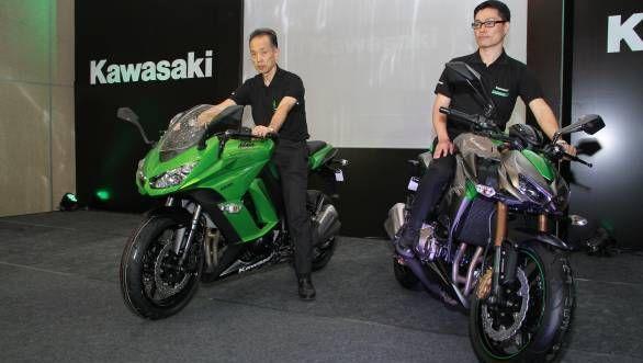 Kawasaki launches Z1000 and Ninja 1000 in India | Exhibit Magazine