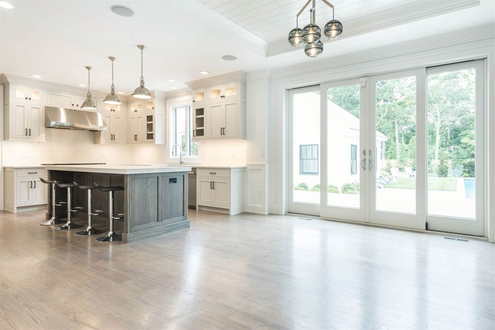 Dreamy kitchen from Westchester Modular. White cabinets ...