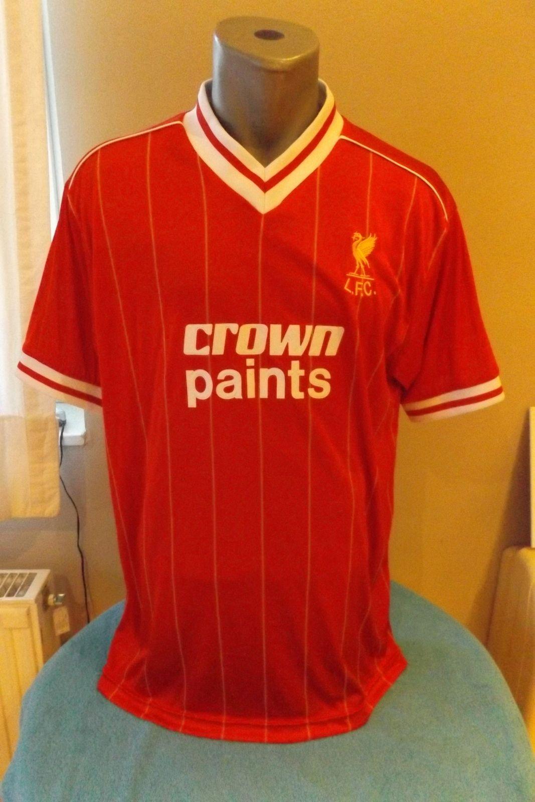 LIVERPOOL FC Retro 1982 83 Season Home Football Shirt Soccer Jersey ... 9d276c308
