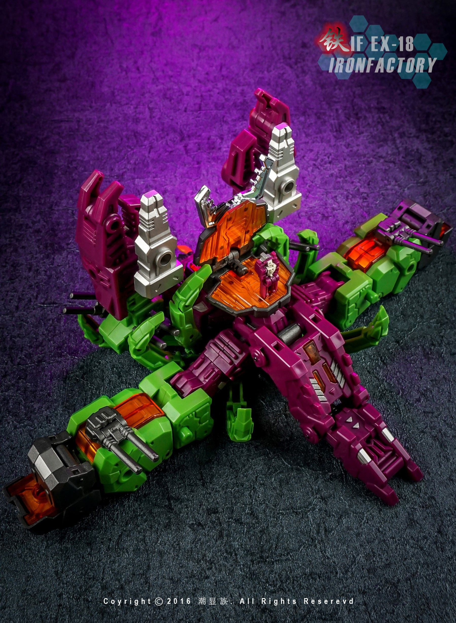 Iron Factory If Ex18 Lord Scorpionin Stock Transformer Cosplay