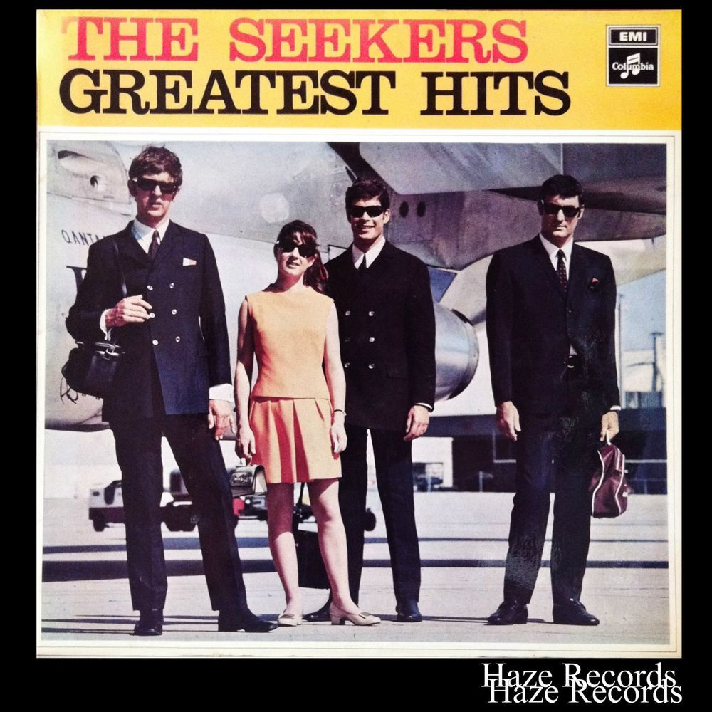 The Seekers Greatest Hits Lp Scxo7830 Excellent Condition