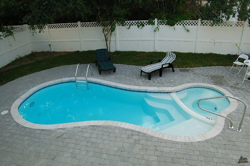 San juan fiberglass pool spa mandalay bay san juan fiberglass pool spa combo pinterest Fiberglass swimming pool installation