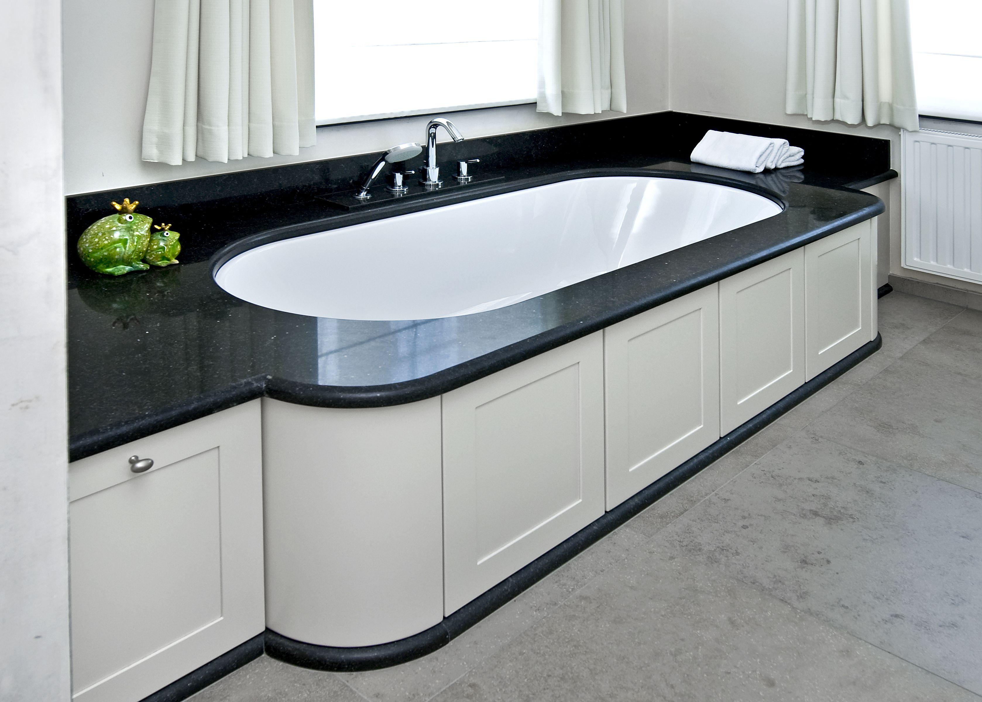 badomkasting panelen mdf lak en posiet tablet en plint