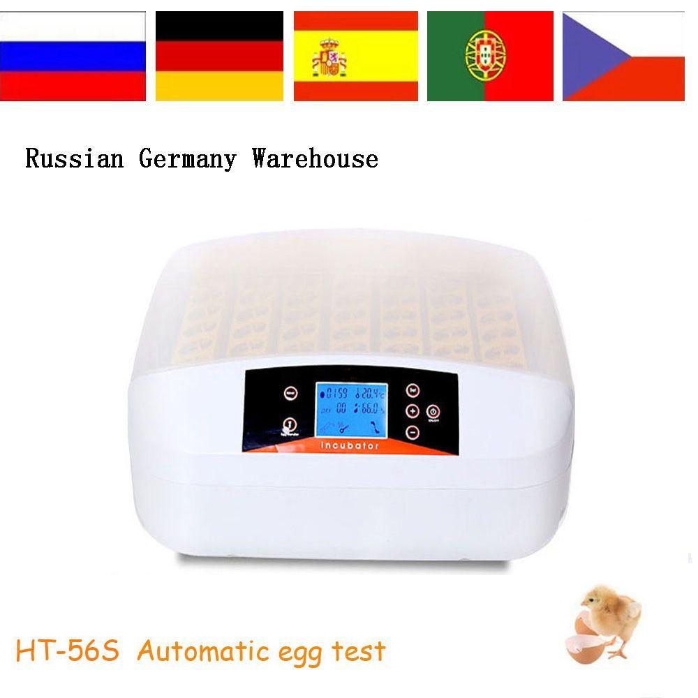 New Design 56 Pcs Egg Led Controller Incubator Egg Test Egg Incubator Egg Hatching Machine
