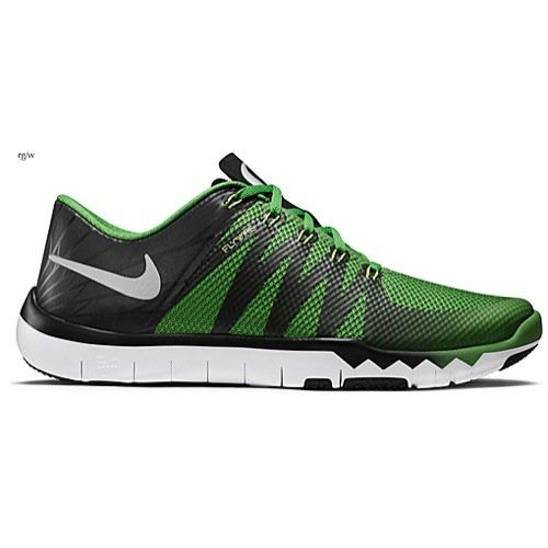 Men's Nike Nike Free Trainer 5.0 V6 AMP (Oregon Ducks) Training Shoe 723939-