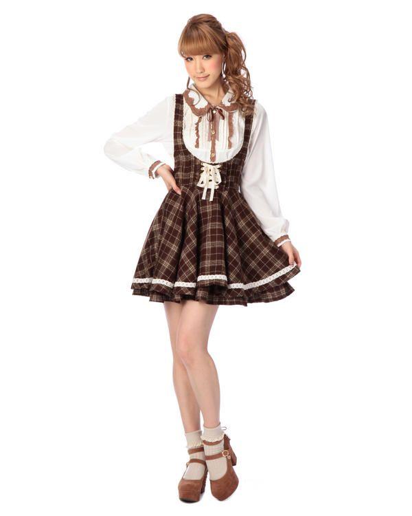 ☆WEB LIMITED☆チェックジャンスカ|ワンピース | LIZ LISA(リズ リサ) - VENT ONLINE STORE