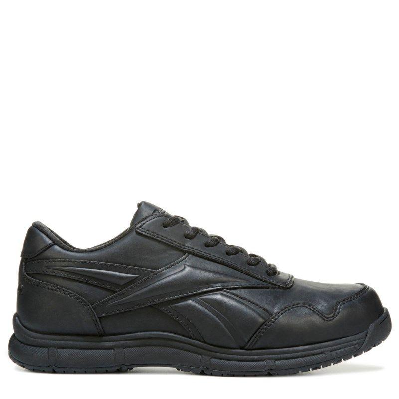 c3a14a9fdf16 Reebok Work Men s Jorie Medium X-Wide Slip Resistant Work Oxford Shoes ( Black