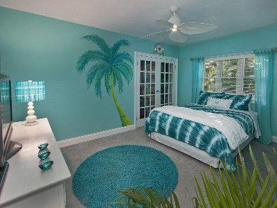 marvellous beach themed bedroom ideas teenage girls | Paradise Found! 5 Star Luxury Villa, Tropical Oasis ...