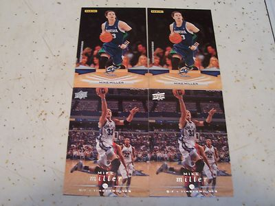 Mike Miller 4 Card Lot Minnesota Timberwolves Florida Gators Panini Upper Deck | eBay
