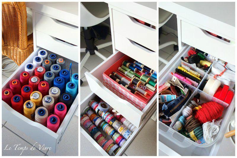 L\u0027atelier - Le Temps de Vivre Pinterest Sewing rooms, Atelier