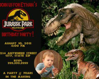 jurassic park bday party Google Search Karolina 10th bday