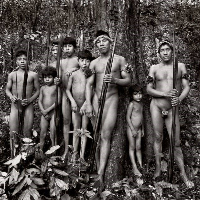 Awa tribo da Amazonia