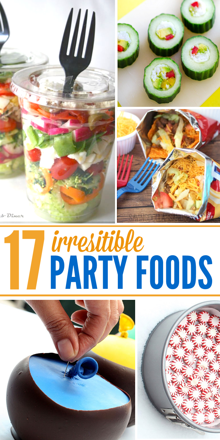Amazing Crazy Dinner Party Ideas Part - 2: 17 Irresistible Party Food Ideas
