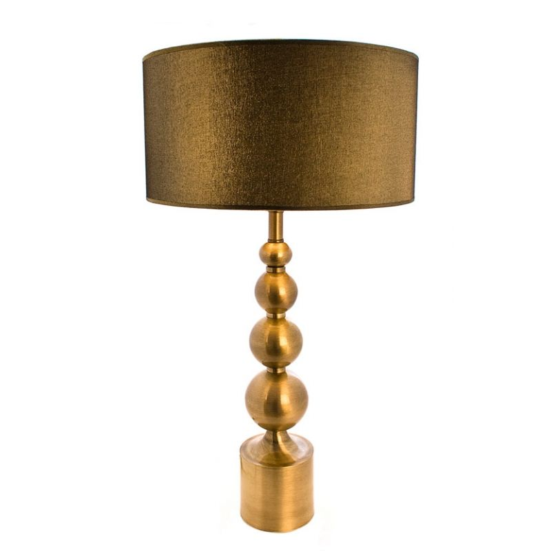 Old Brass Table Lamp