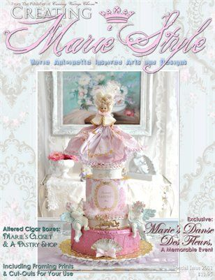 Creating Vintage Charm: Creating Marie Style, $11.95 from HP MagCloud