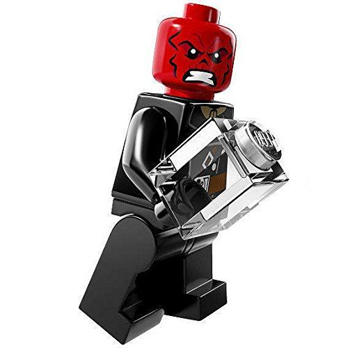 LEGO MARVEL DC UNIVERSE SUPER HEROES MINIFIGURE Red Skull 76017 new