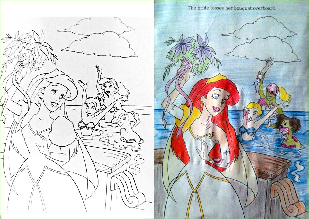 Guest Post Zedding Corrupt Coloring Book Funny Kid Drawings Childrens Colouring Book