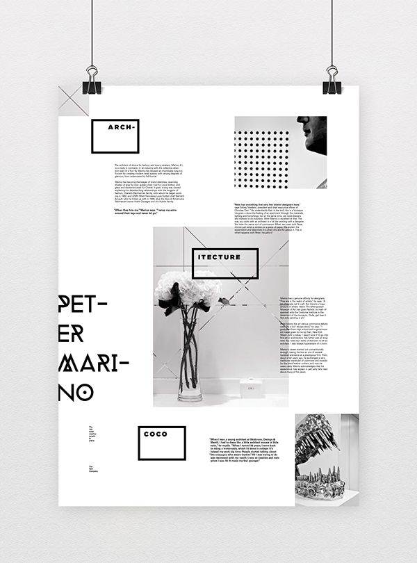 informative poster system by marina zertuche via behance poster
