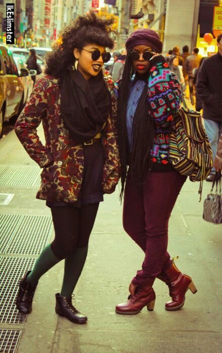 90s revamped street style   African american fashion ...