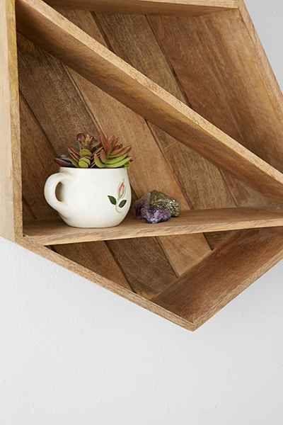 Geo Shelf   Shelves, Apartment furniture, Urban outfitters