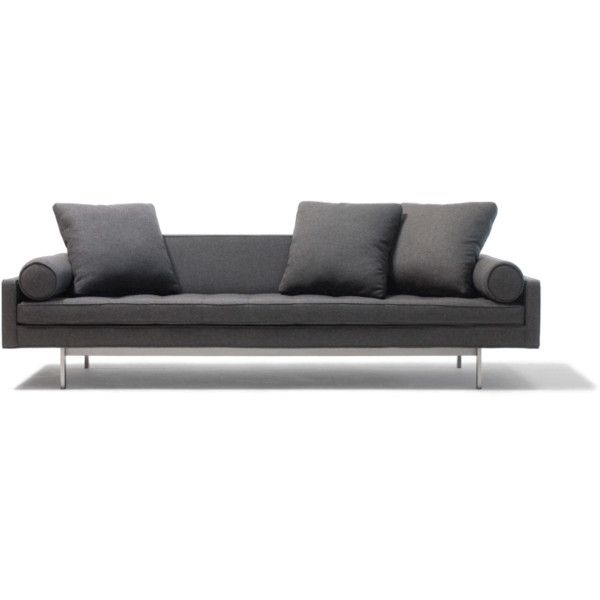 Chicago II Sofa ❤ Liked On Polyvore Featuring Home, Furniture, Sofas,  Midcentury Modern