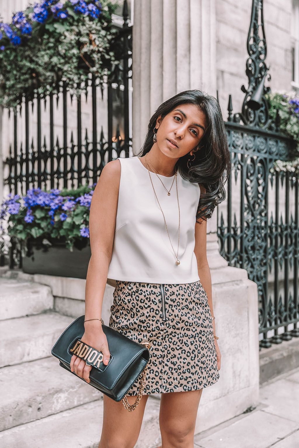 8ba70620b Fashion blogger Shloka Narang of The Silk Sneaker shares why you need a  leopard print mini skirt in your wardrobe to create the perfect summer  outfit ...