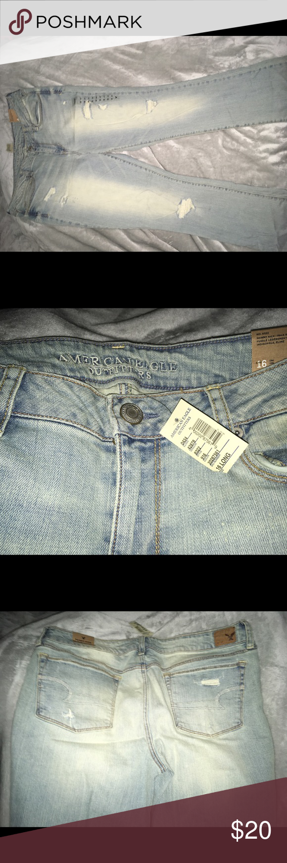 American eagle skinny kick jeans nwt eagle size and jeans size
