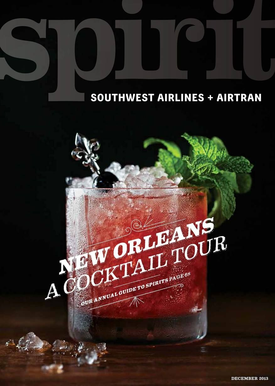 We were one of the 5 five listed in this airline mag.