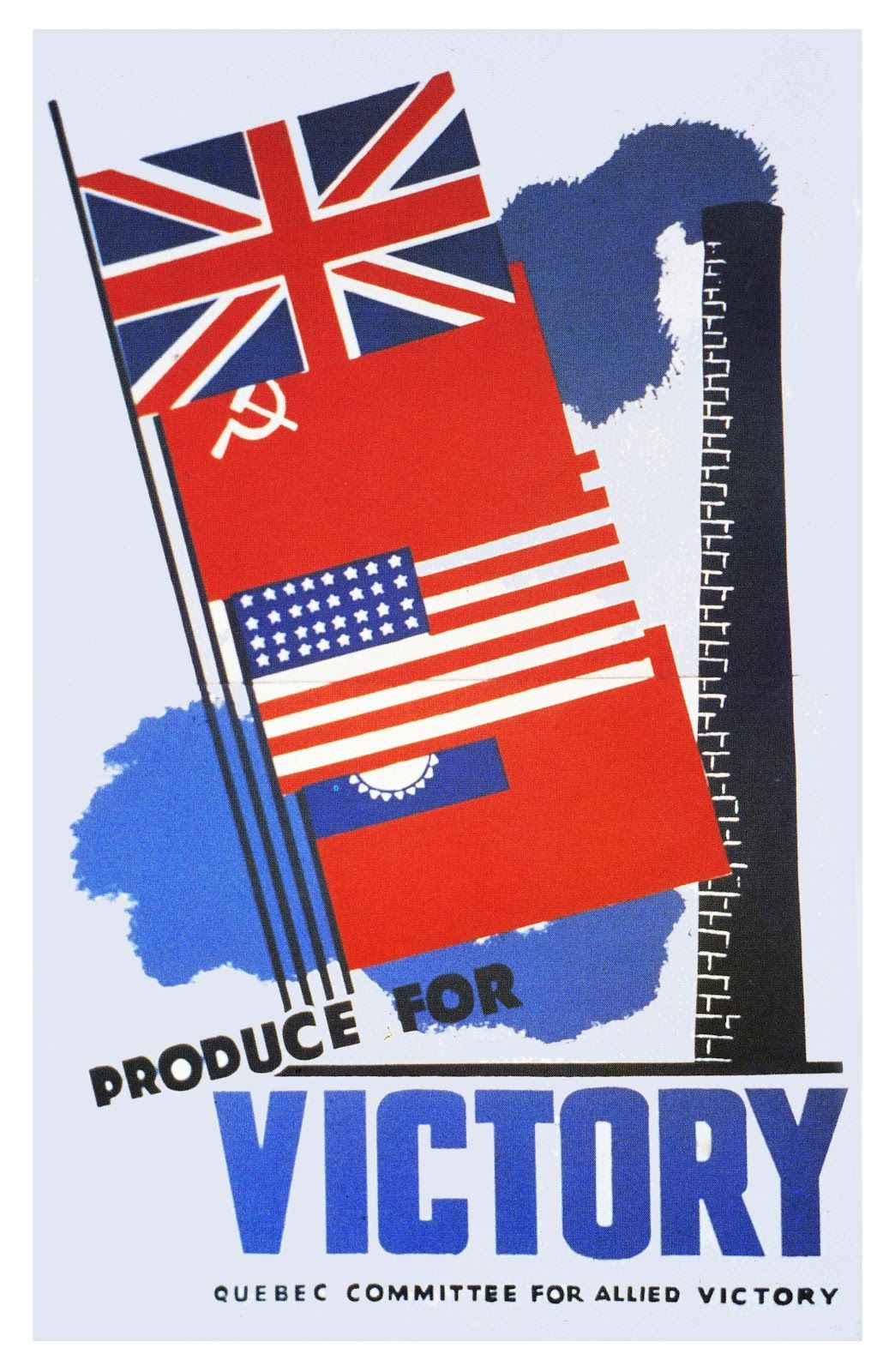 "historyinposters: "" Canadian WW2 Allies propaganda poster ..."