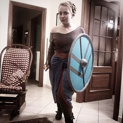 lagertha cosplay wip