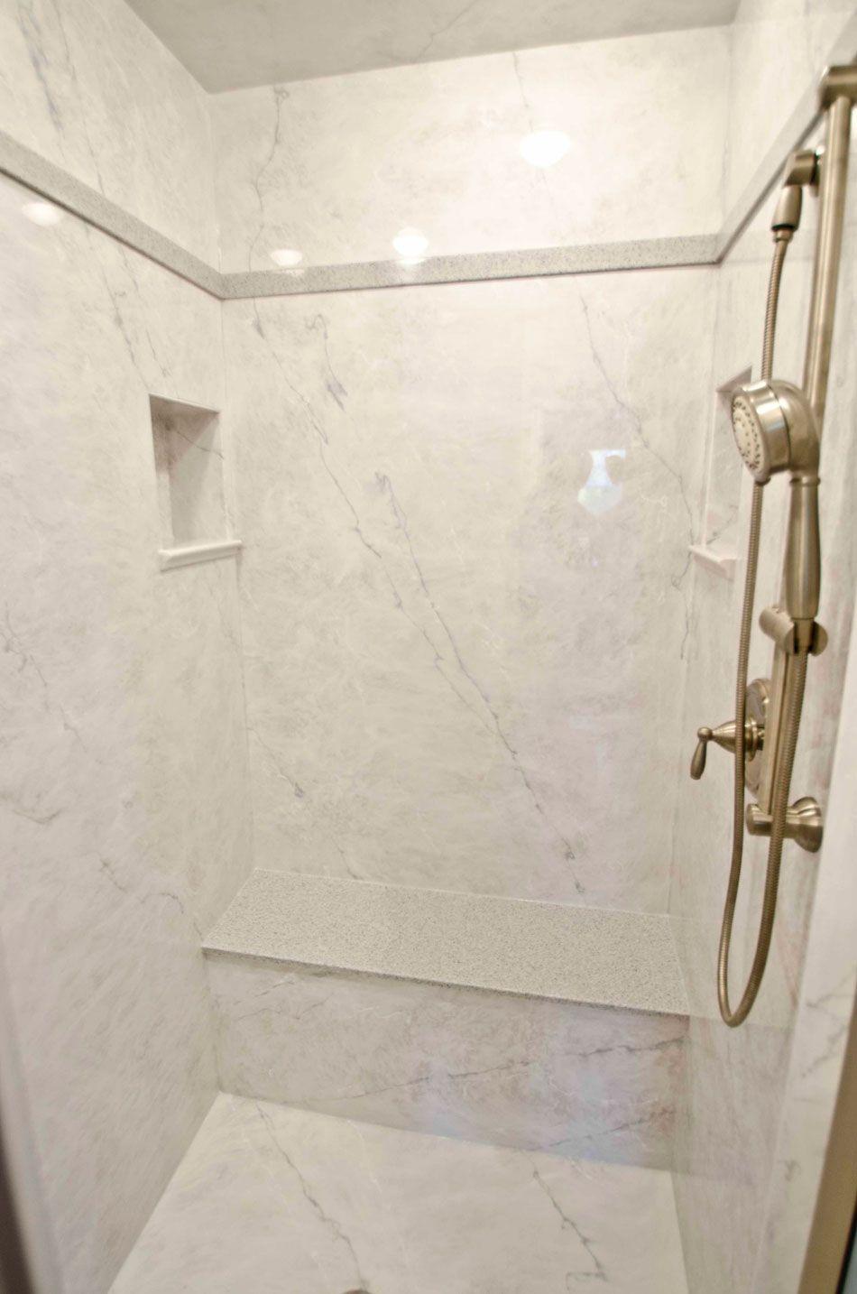 Granite Shower On Pinterest