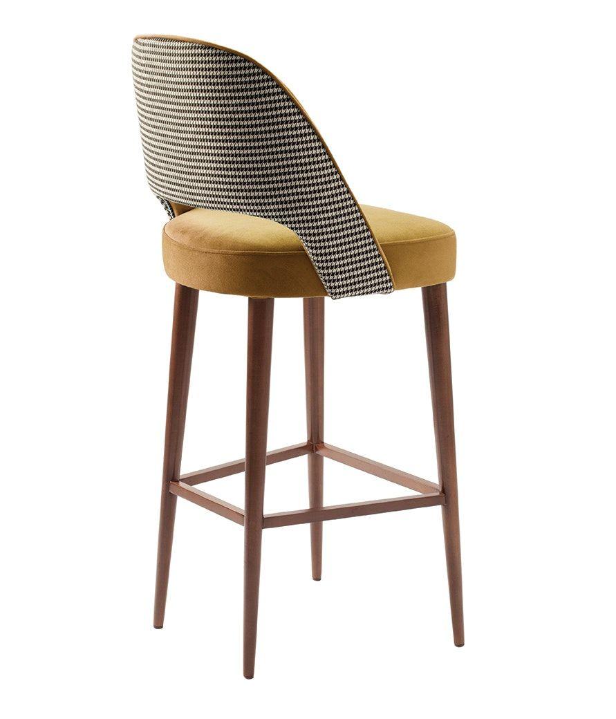 Ava Bar Chair Mid Century Modern Stools Ottomans Poufs