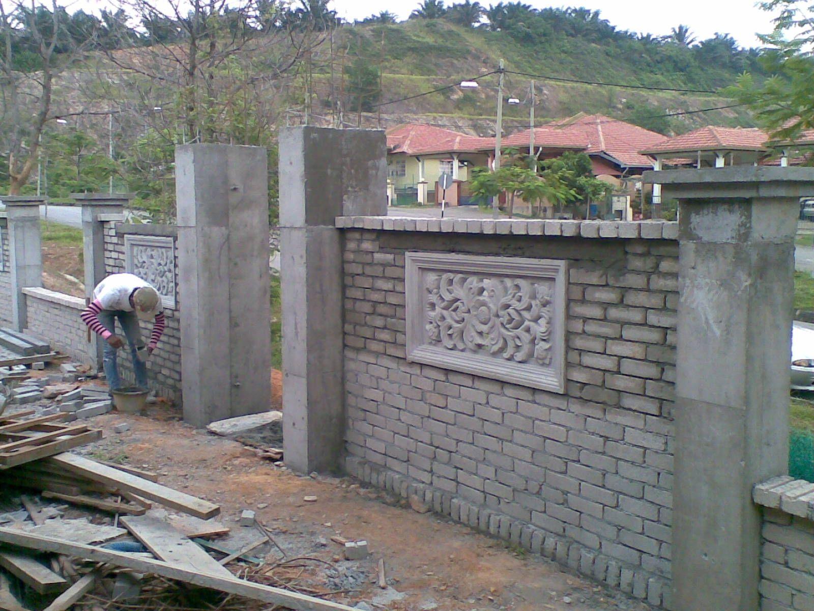 Face brick wall fence design httpultimaterpmod pinterest face brick wall fence design workwithnaturefo