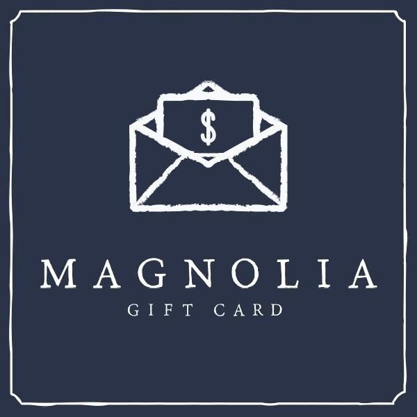 Shopping for someone but not sure what to give them Give them the gift of choice with a Magnolia Market EGift Card Our EGift is always the perfect option